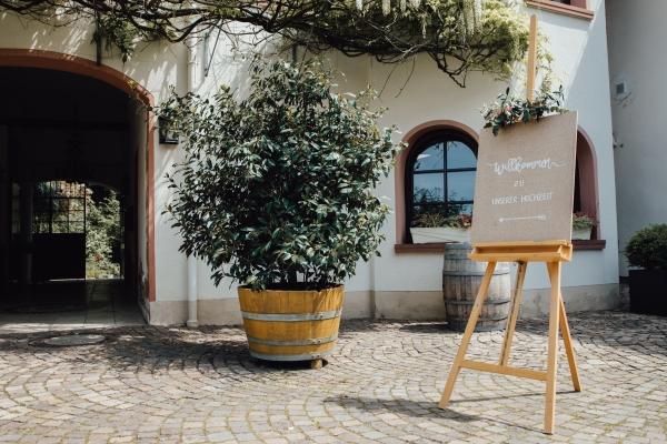 Hochzeit feiern Weingut